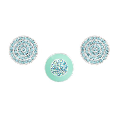 Aqua Gleam Dot Set