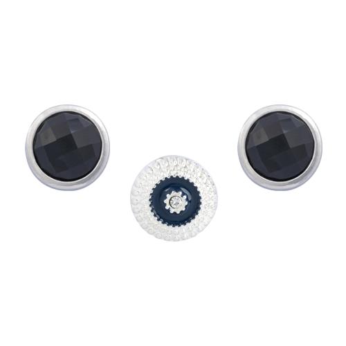 Black Empress Dot Set