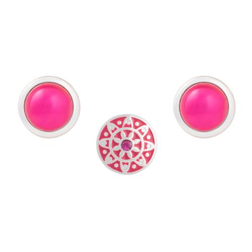 Fuchsia Emblem Dot Set